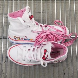 Converse Youth Hello Kitty High Top Sneakers